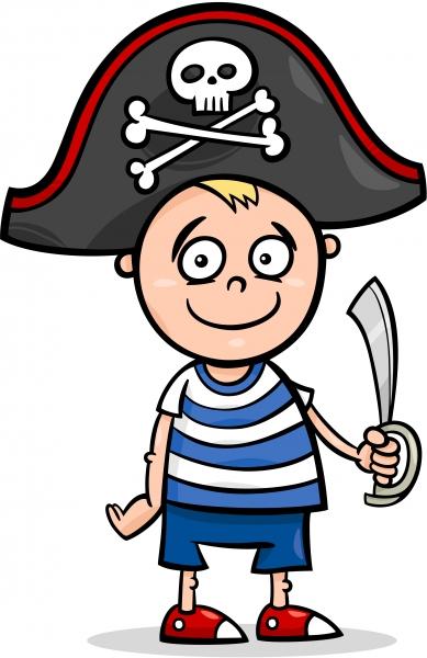 pojke i piratkostym
